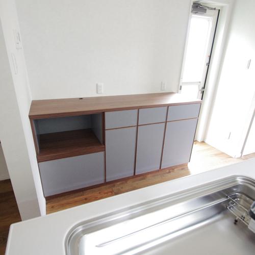 キッチンのカウンター収納