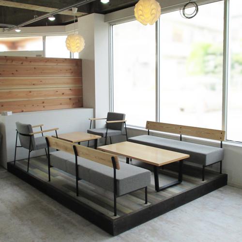 商談スペースの家具